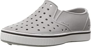 Native Kids Shoes unisex-baby Miles Water Shoe,pigeon grey/shell white,8 Medium US Toddler