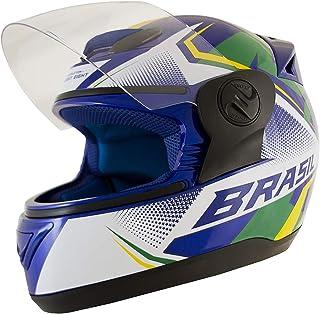 Pro Tork Capacete Evolution G6 Brasil 2019 56 Azul/Branco