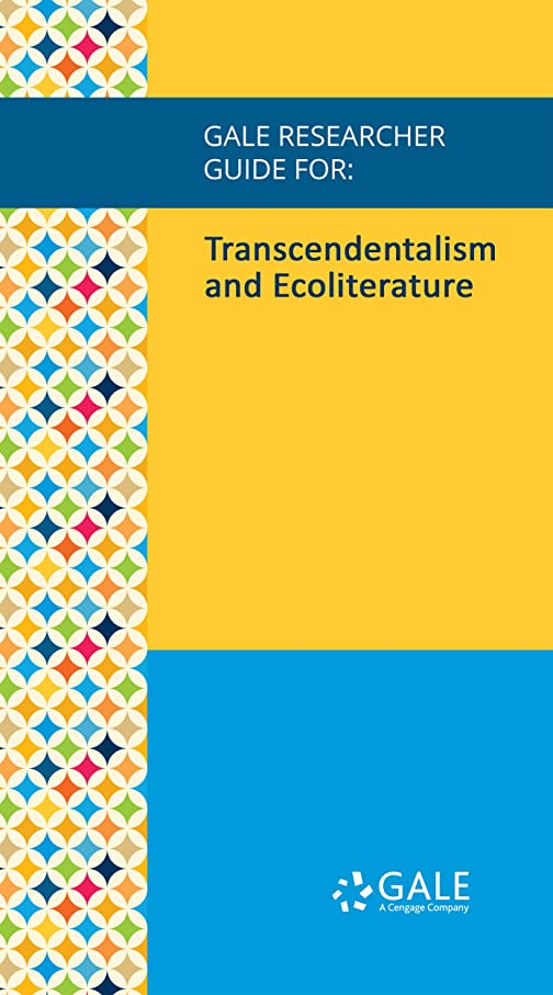 シャット収束する王子Gale Researcher Guide for: Transcendentalism and Ecoliterature (English Edition)