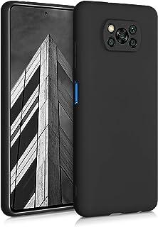 kwmobile 対応: Xiaomi Poco X3 NFC ケース - TPU ソフト スマホカバー 耐衝撃 滑り止め 保護ケース