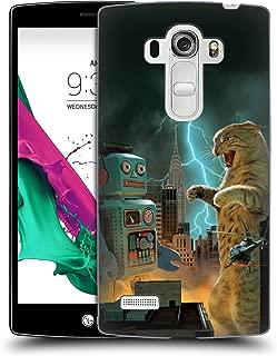 Official Vincent HIE Catzilla VS Robot Felidae Hard Back Case Compatible for LG G4 Beat / G4s / G4 s / H735