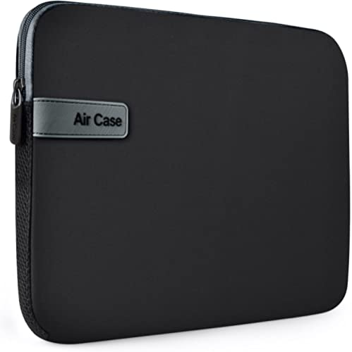 AirCase Laptop Bag Sleeve Case Cover Pouch for 13-Inch, 13.3-Inch Laptop for Men & Women Neoprene(Black)