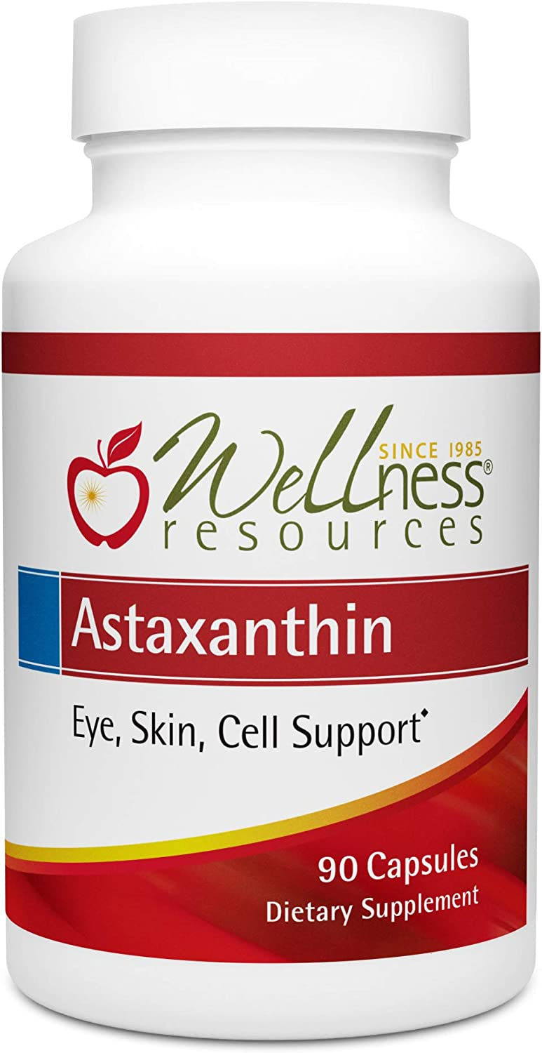 A surprise price is realized Astaxanthin 6mg 90 caps AstaReal for Super special price USA Eyes - Skin Immunity