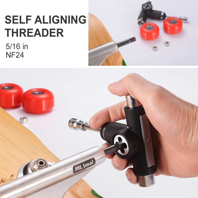 LMAI Skate Tool All-in-one Multi-Function Skateboard