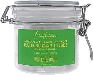 Shea Moisture African Water Mint & Ginger Bath Sugar Cubes, 213g