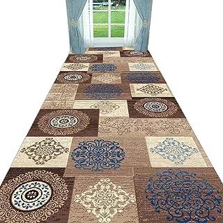 Non-Slip Carpet YANZHEN Hallway Runner Rugs No Shedding Washable Non-Slip 7mm Thick Odorless Blended Fiber Entryway Rugs (...