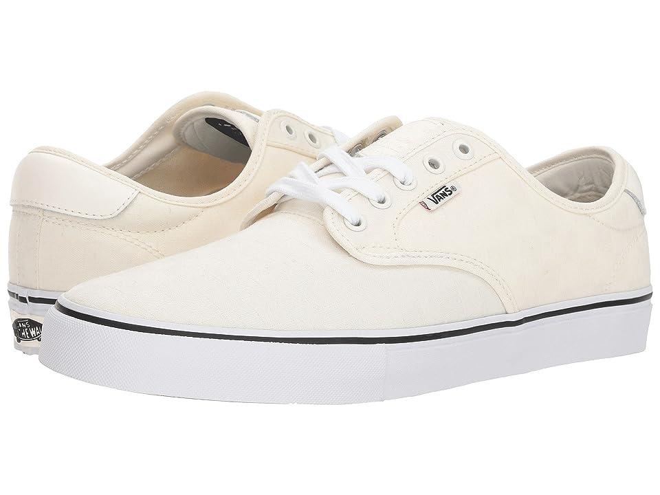 Vans Chima Ferguson Pro ((Jacquard Checkerboard) Marshmallow/True White) Men