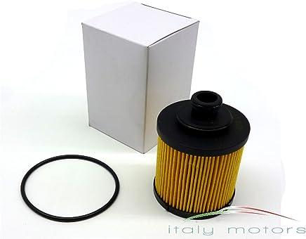 Inserto filtro dellaria quadrato per Fiat 500 TwinAir New Panda 62//77 KW OE 51881024 FIAT