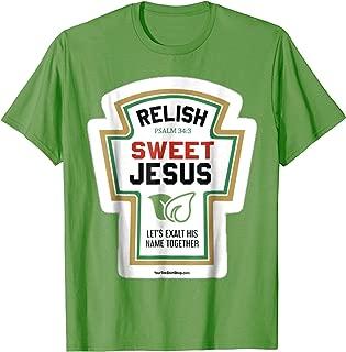 Relish. Sweet Jesus. Let's Exalt His Name Together. Psalm 34