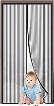 Magnetische hordeur Glasvezel-nieuwe opgewaardeerde magneten & versterken top nooit gescheurd-duurzaam glasvezel gaas gord...