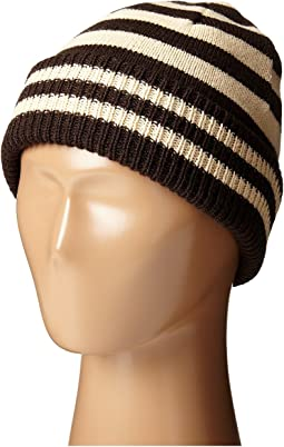 KNK3453 Stripe Beanie with A Cuff (Little Kids)