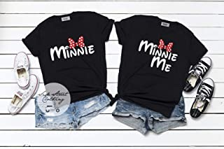 Minnie or Minnie Me Coordinating T shirt - ONE SHIRT ONLY - mommy and me family matching