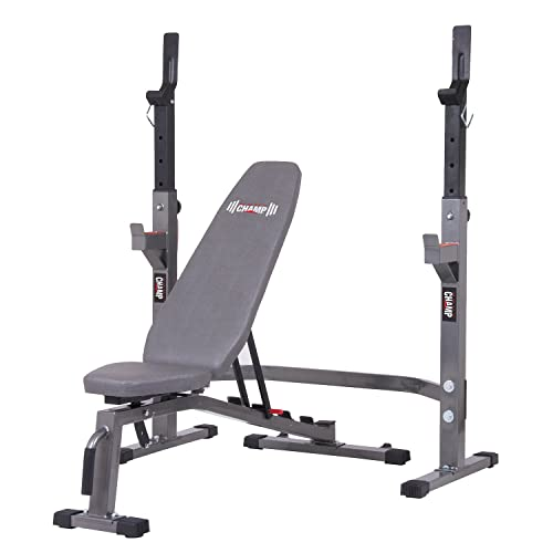 Weight Bench With Squat Rack Amazon Com