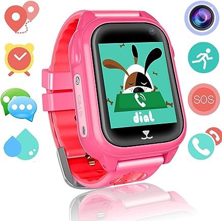 Kids Smart Watch Phone for Girls Boys GPS Fitness Tracker...