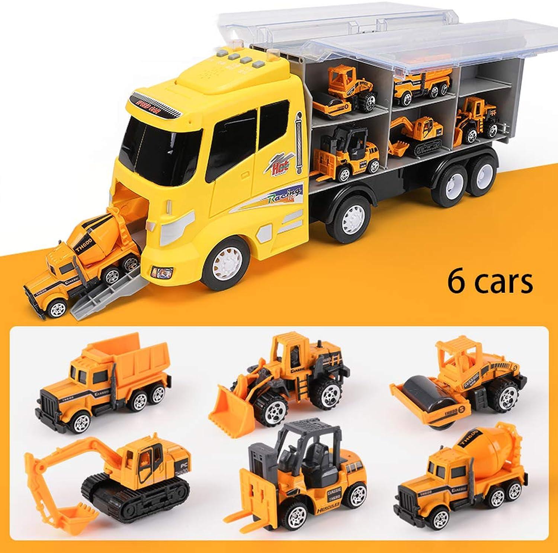 oferta de tienda Juguete para Niños Modelo de Coche Conjunto de de de Camiones transportador Masculino bebé policía Coche Modelo de Coche de Juguete 1-2-3-4-6 años de Edad  ahorra 50% -75% de descuento