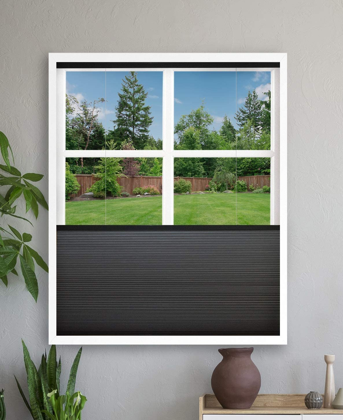 Luxr Blinds Classic Custom-Made Blackout Cellular Cordless Top Do Outlet SALE Shades