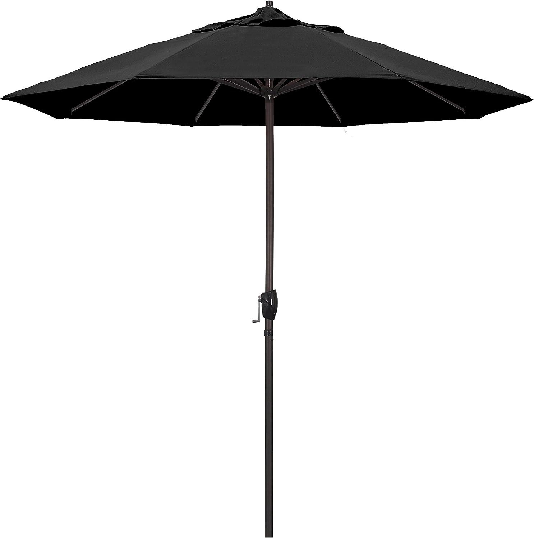 California Umbrella 9' sold out Round Crank Deluxe Aluminum Lif Market