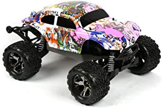 Compatible Custom Body Graffiti Pink Pig Style Replacement for 1/10 Scale RC Car or Truck (Truck not Included) STB-PIG-01