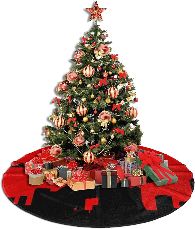 Mesa Mall ASDJLK Christmas Tree Skirt 30