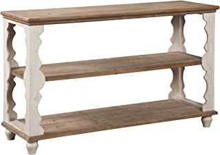 Ashley Furniture Signature Design - Alwyndale Console Sofa Table - Casual - Antique White/Brown