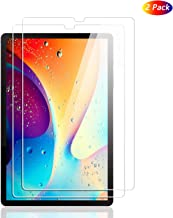 Samsung Galaxy Tab S6 Screen Protector, MIUOLV No-Bubble Anti-Scratch Anti-Fingerprint HD Clear 9 Hardness Tempered Glass for Galaxy Tab S6, 10.5'' 2019, S Pen Compatible (2-Pack) Clear