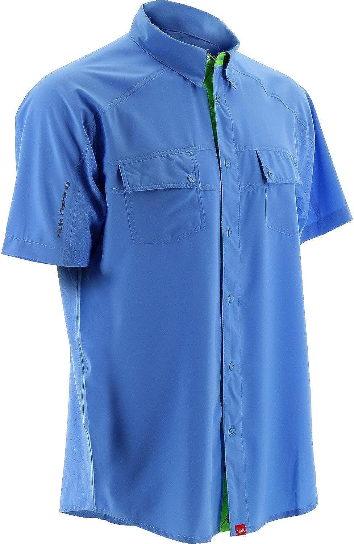 Marolina Outdoor Mens Huk Next Level Short Sleeve H1500001CBLong Sleeve, Carolina blueee, Small