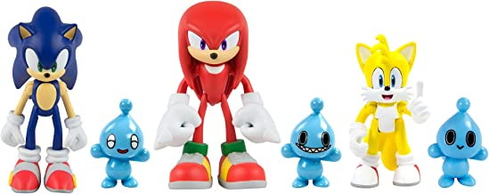 SONIC Classic 3 Figure Pack with Chao