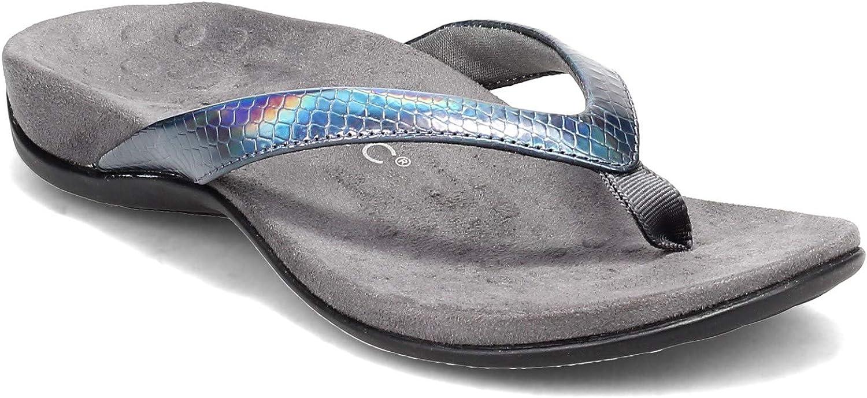 Vionic Women's Rest Excellent Dillon Toe S Supportive Finally resale start Sandals- Post Ladies