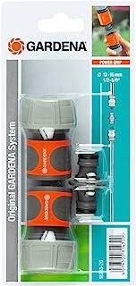 """Gardena - Ensemble d'accouplement 19mm (3/4"""") (2 x connecteur de tuyau, 1 x joint d'extension)"""