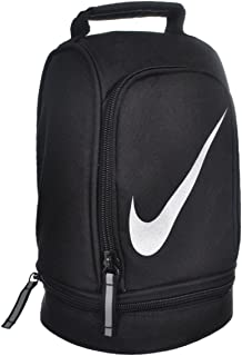 Nike Paneled Upright Insulated Lunchbox – Black/Silver, one Size