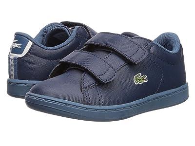 Lacoste Kids Carnaby Evo Strap 119 1 SUI (Toddler/Little Kid) (Navy/Blue) Kid