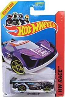 Hot Wheels 2014 Track Aces Hw Race Purple Super Blitzen 163/250