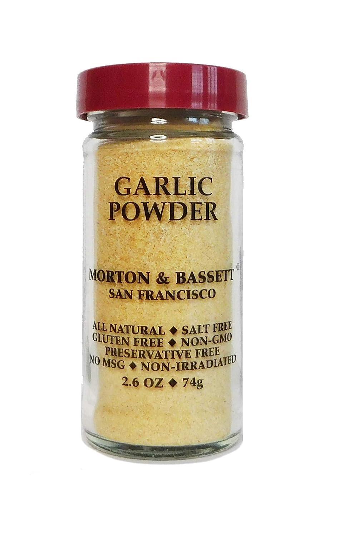 Morton Bassett Garlic New Shipping Free Max 49% OFF ounce Powder 2.6