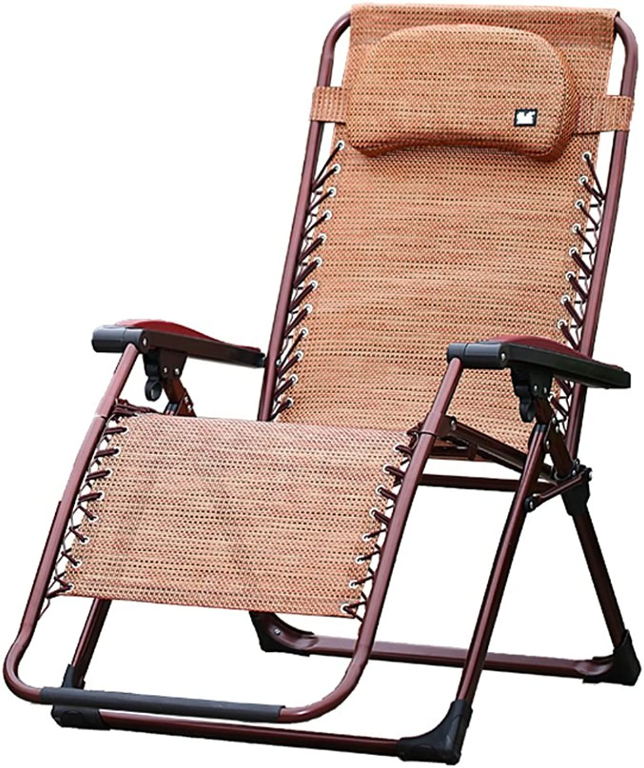 Folding chair QFFL Recliners Adult Office Nap Chair Home Multi-function Chair Balcony Chair Outdoor stool