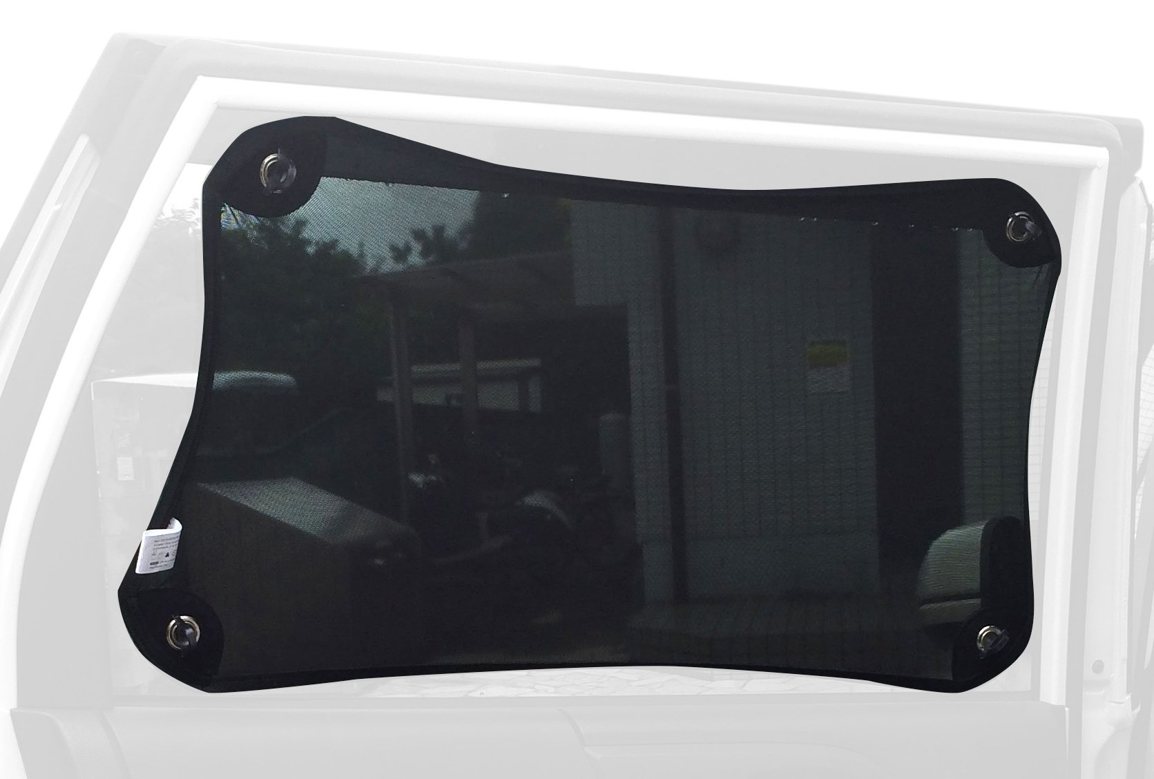 Car sun shades 40*60cm R 2pcs Black Retractable Sun Shade Roller Car Curtain Window Shade UV Cut // Protection TOOGOO