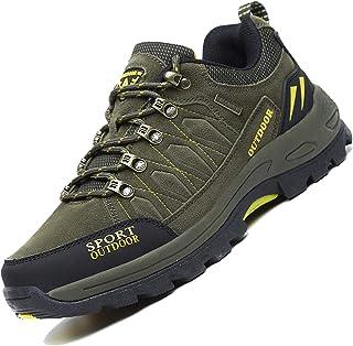Zapatos de Trekking y Senderismo para Hombre Mujer Deportes Exterior Boats Escalada Sneakers Verde Azul Negro 36-48