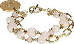 "7.75"" Two Row Toggle Bracelet"