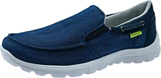 ChayChax Chaussures en Toile Homme Léger Chaussures Bateau Respirant Mocassins Antidérapant Sport Sneakers