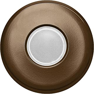 NICOR Lighting DLF SureFit Series Round Trim Plate, Oil-Rubbed Bronze (DLF-10-TRIM-RD-OB)