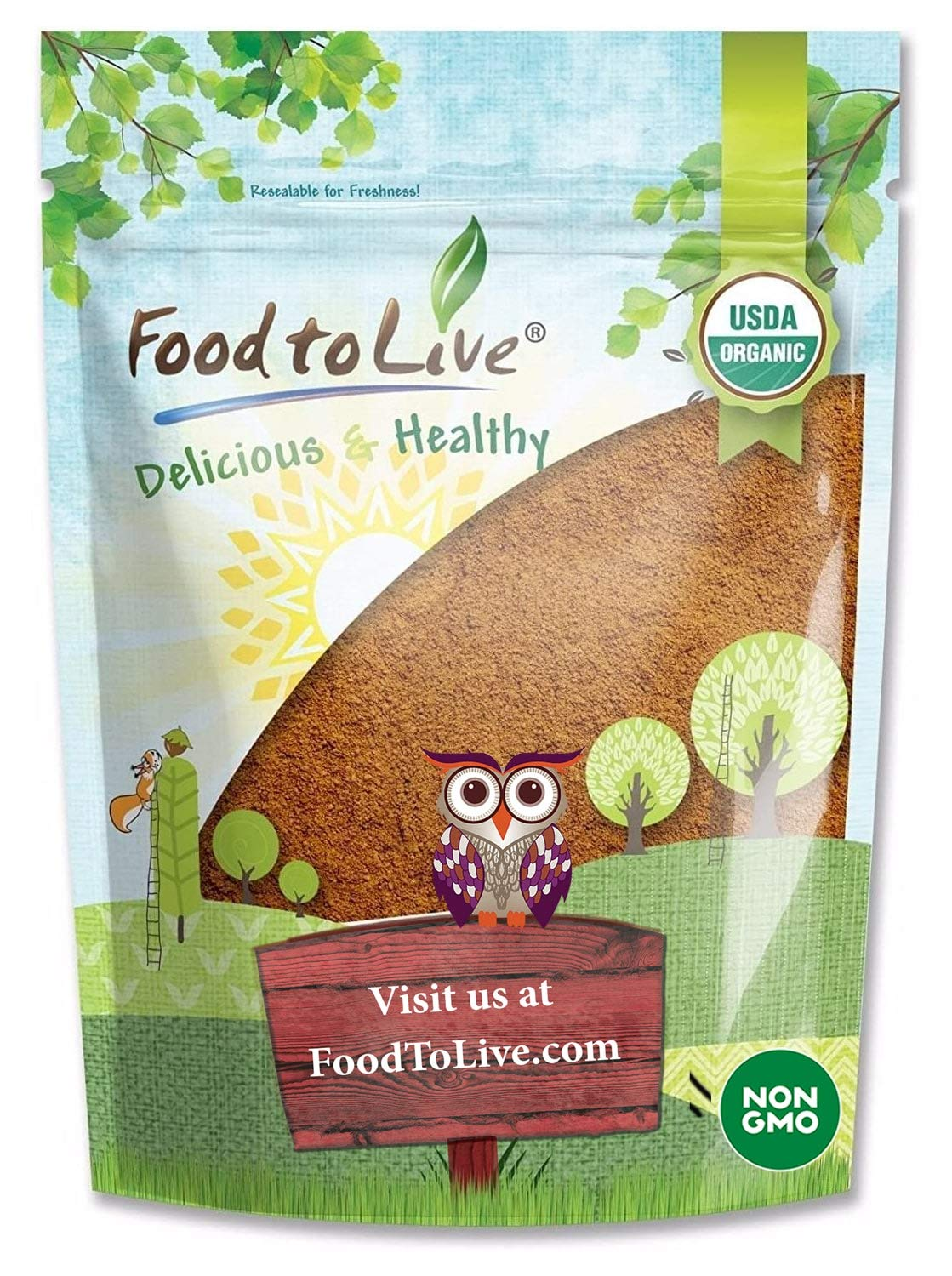 Organic Cocoa Powder 8 Ounces Natural Unsweetened Max 43% OFF - Fort Worth Mall Non-Dutch