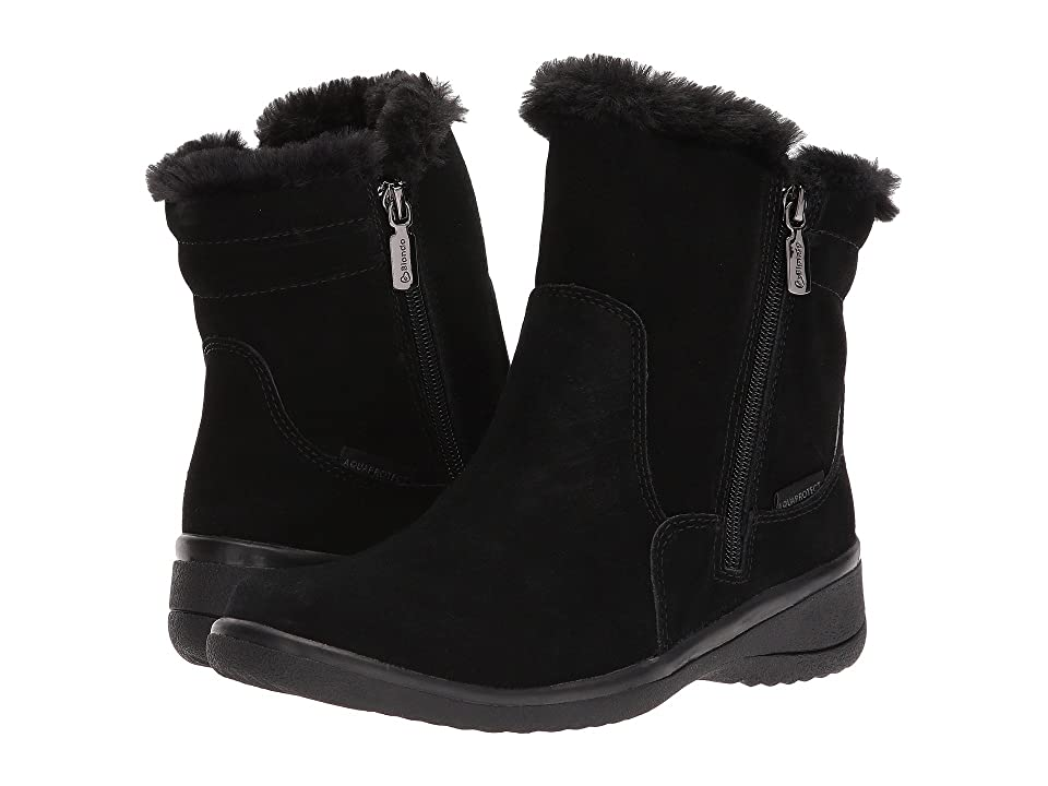 Blondo Silas Waterproof (Black Suede) Women