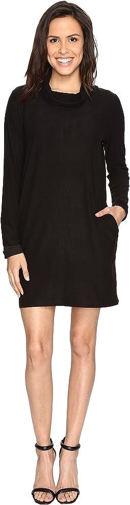 Culture Phit - Lyanna Long Sleeve Cowl Neck Dress
