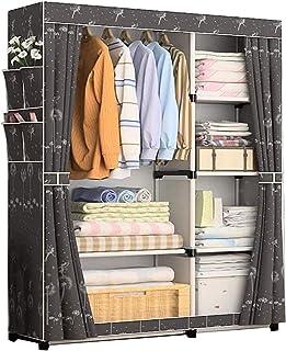 XINYALAMP Armoire Simple Armoire Carte de Rangement Vêtements Portable Dortoir Chambre à Coucher Chambre à Coucher Vêtemen...