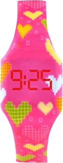 KIDDUS Reloj LED Digital para niña o niño. Pulsera de