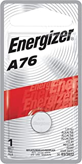 Energizer Watch Battery 1.5 Volt A76 1 Each