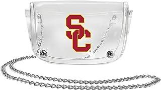 NCAA USC Trojans Clear Carryall Crossbody