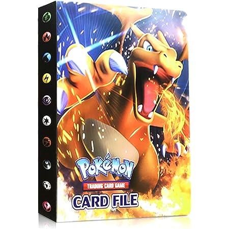 Album de dresseur Pok/émon Card GX EX EKKONG Classeur pour Pokemon,Porte-Cartes Pok/émon,Livre Carte Pokemon Collection Lalbum a 30 Pages et Peut contenir 240 Cartes Sun/&Moon