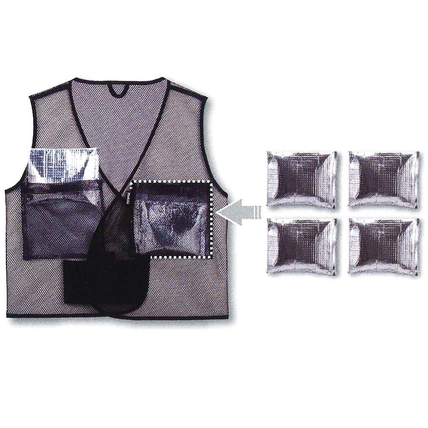 マキタ 保冷ベスト A-68694-(Size:LL/3L/4Lで共通サイズ) 保冷剤ポケットx4