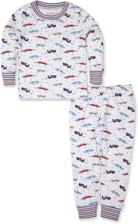 Kissy Kissy Baby-Boys Infant Pajamas Reckless Race Cars Print Long Pajamas Set