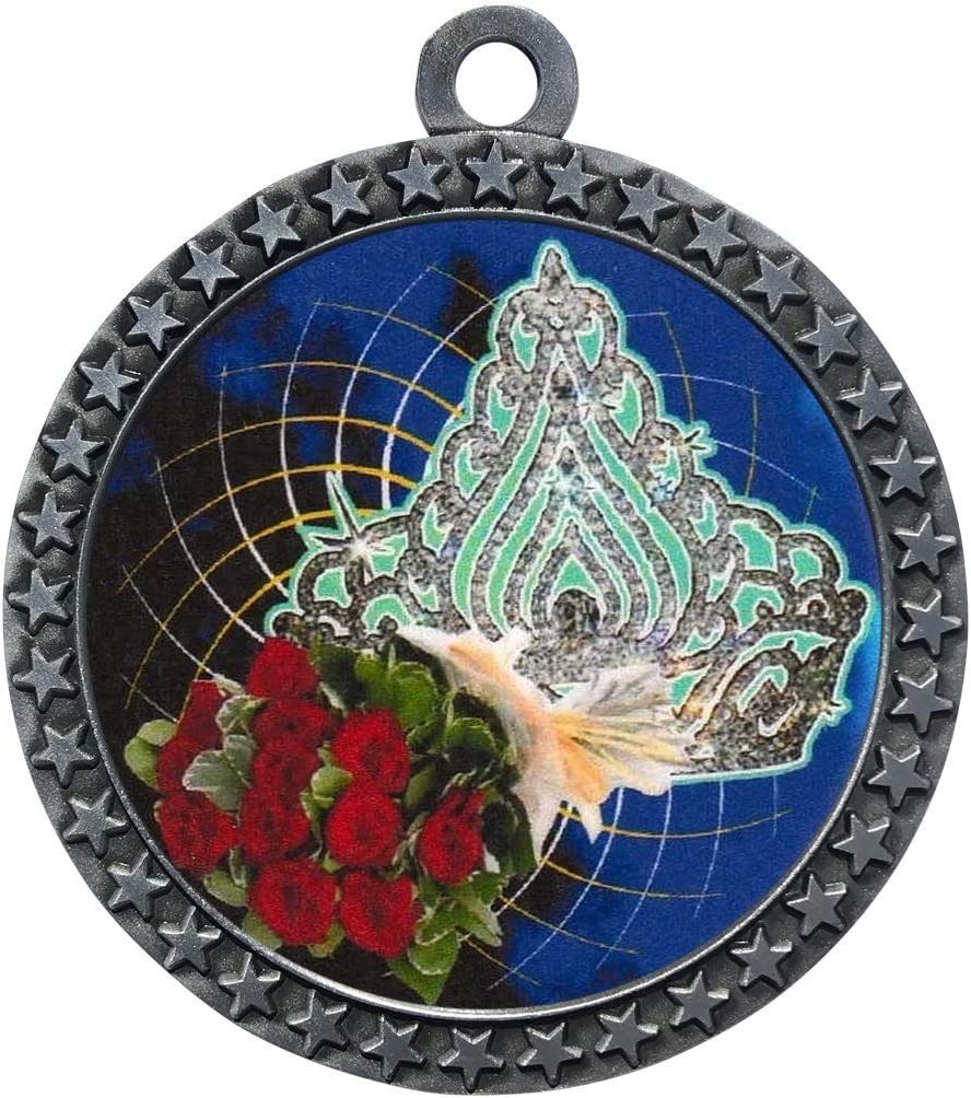 Express Medals 1 to 50 Manufacturer regenerated product Packs Aw Medal Outstanding Silver Queen Trophy Beauty